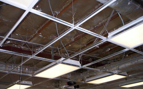 SSHS New Ceilings and Insulation at Classrooms.JPG