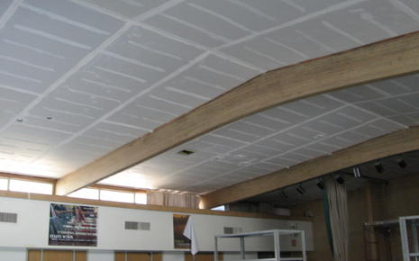 MPR Ceiling During Construction.JPG